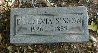 SISSON, E. - Gallia County, Ohio | E. SISSON - Ohio Gravestone Photos