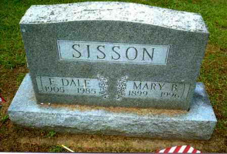BRADBURY SISSON, MARY - Gallia County, Ohio | MARY BRADBURY SISSON - Ohio Gravestone Photos