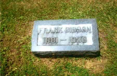 SISSON, FRANK J. - Gallia County, Ohio | FRANK J. SISSON - Ohio Gravestone Photos