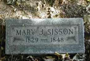 SISSON, MARY - Gallia County, Ohio | MARY SISSON - Ohio Gravestone Photos