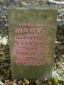 SISSON, MARY - Gallia County, Ohio   MARY SISSON - Ohio Gravestone Photos