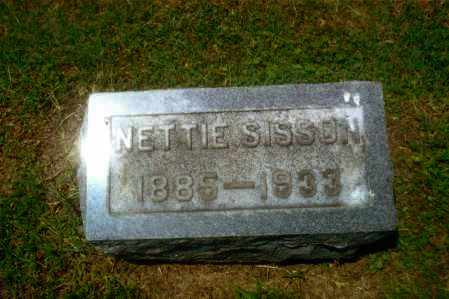 SISSON, NETTIE FLORENCE - Gallia County, Ohio | NETTIE FLORENCE SISSON - Ohio Gravestone Photos