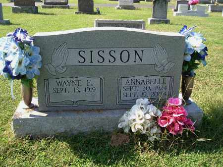 SISSON, WAYNE F - Gallia County, Ohio | WAYNE F SISSON - Ohio Gravestone Photos