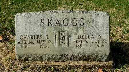 SKAGGS, DELLA A - Gallia County, Ohio | DELLA A SKAGGS - Ohio Gravestone Photos