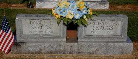 SKAGGS, DONALD E - Gallia County, Ohio | DONALD E SKAGGS - Ohio Gravestone Photos