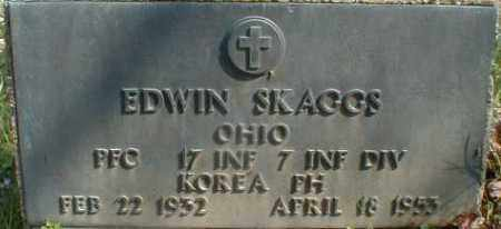 SKAGGS, EDWIN - Gallia County, Ohio | EDWIN SKAGGS - Ohio Gravestone Photos