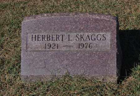SKAGGS, HERBERT L - Gallia County, Ohio | HERBERT L SKAGGS - Ohio Gravestone Photos