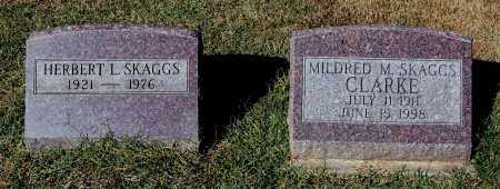 SKAGGS, MILDRED M - Gallia County, Ohio | MILDRED M SKAGGS - Ohio Gravestone Photos