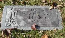 SKIDMORE, SARAH - Gallia County, Ohio | SARAH SKIDMORE - Ohio Gravestone Photos