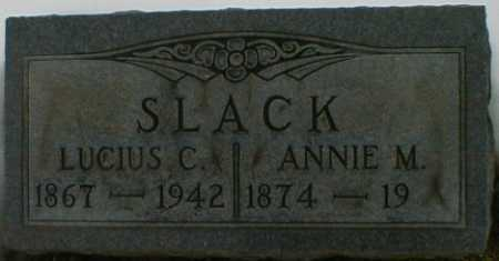SLACK, LUCIUS - Gallia County, Ohio | LUCIUS SLACK - Ohio Gravestone Photos