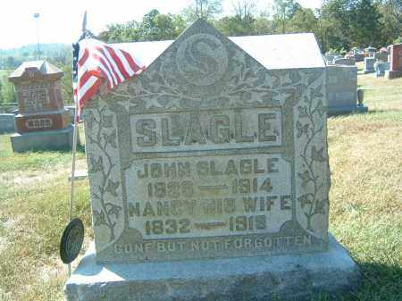 SLAGLE, NANCY - Gallia County, Ohio | NANCY SLAGLE - Ohio Gravestone Photos