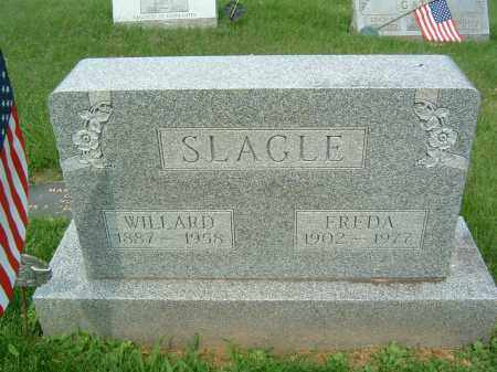 SLAGLE, WILLARD - Gallia County, Ohio | WILLARD SLAGLE - Ohio Gravestone Photos