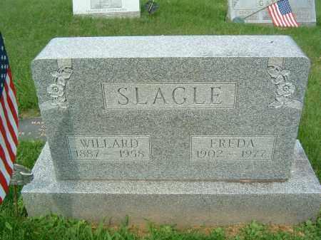 SLAGLE, FREDA - Gallia County, Ohio | FREDA SLAGLE - Ohio Gravestone Photos