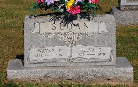 SLOAN, BELVA G - Gallia County, Ohio | BELVA G SLOAN - Ohio Gravestone Photos