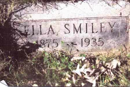 SMILEY, ELLA - Gallia County, Ohio | ELLA SMILEY - Ohio Gravestone Photos