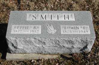 SMITH, EDWIN E. - Gallia County, Ohio | EDWIN E. SMITH - Ohio Gravestone Photos
