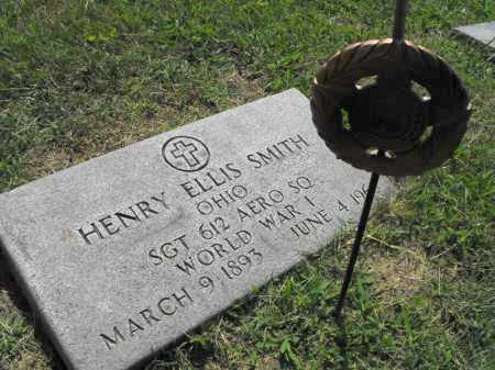 SMITH, HENRY ELLIS - Gallia County, Ohio | HENRY ELLIS SMITH - Ohio Gravestone Photos