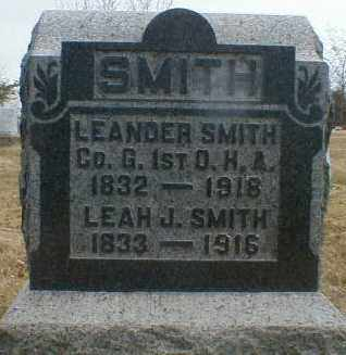 SMITH, LEANDER - Gallia County, Ohio | LEANDER SMITH - Ohio Gravestone Photos