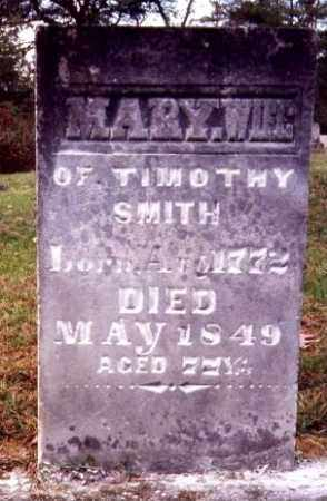 SMITH, MARY (POLLY) - Gallia County, Ohio | MARY (POLLY) SMITH - Ohio Gravestone Photos