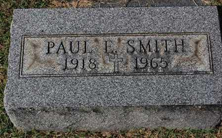 SMITH, PAUL E - Gallia County, Ohio | PAUL E SMITH - Ohio Gravestone Photos