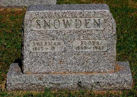 SNOWDEN, SHERMAN - Gallia County, Ohio | SHERMAN SNOWDEN - Ohio Gravestone Photos