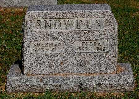 SNOWDEN, FLORA - Gallia County, Ohio | FLORA SNOWDEN - Ohio Gravestone Photos