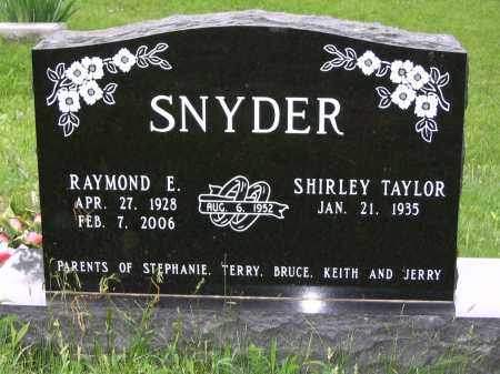 SNYDER, SHIRLEY TAYLOR - Gallia County, Ohio | SHIRLEY TAYLOR SNYDER - Ohio Gravestone Photos