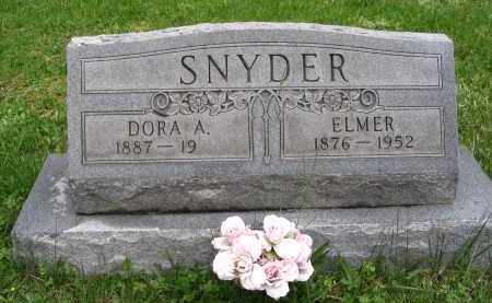 SNYDER, ELMER - Gallia County, Ohio | ELMER SNYDER - Ohio Gravestone Photos