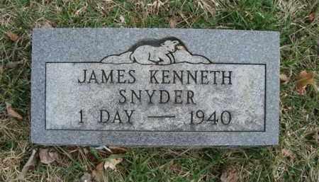 SNYDER, JAMES KENNETH - Gallia County, Ohio | JAMES KENNETH SNYDER - Ohio Gravestone Photos