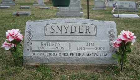 SNYDER, JIM - Gallia County, Ohio | JIM SNYDER - Ohio Gravestone Photos