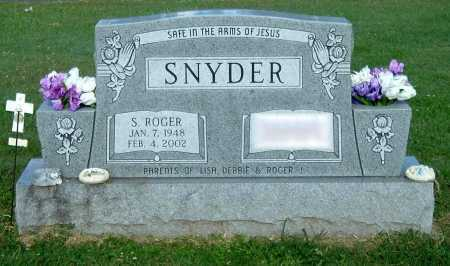 SNYDER, S ROGER - Gallia County, Ohio | S ROGER SNYDER - Ohio Gravestone Photos