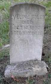 SOLES, EVELINE - Gallia County, Ohio | EVELINE SOLES - Ohio Gravestone Photos