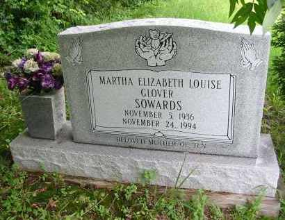 SOWARDS, MARTHA E. L. - Gallia County, Ohio | MARTHA E. L. SOWARDS - Ohio Gravestone Photos