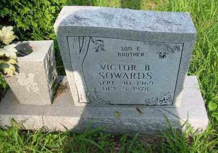 SOWARDS, VICTOR B. - Gallia County, Ohio | VICTOR B. SOWARDS - Ohio Gravestone Photos