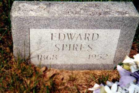 SPIRES, EDWARD - Gallia County, Ohio | EDWARD SPIRES - Ohio Gravestone Photos