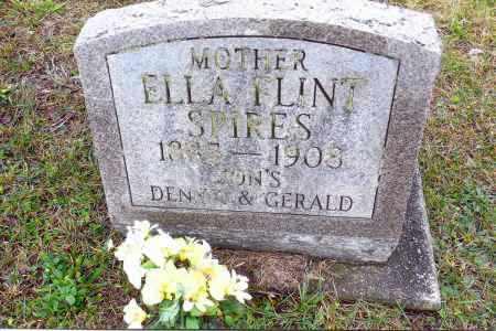 SPIRES, ELLA - Gallia County, Ohio | ELLA SPIRES - Ohio Gravestone Photos