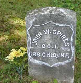 SPIRES, JOHN W. - Gallia County, Ohio | JOHN W. SPIRES - Ohio Gravestone Photos