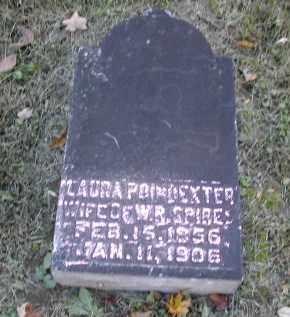 POINDEXTER SPIRES, LAURA - Gallia County, Ohio | LAURA POINDEXTER SPIRES - Ohio Gravestone Photos