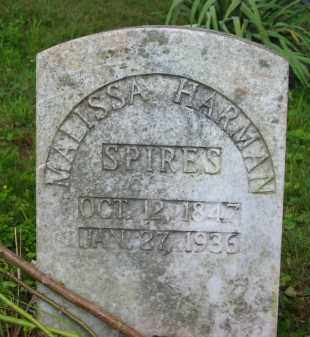 HARMAN SPIRES, MALISSA - Gallia County, Ohio | MALISSA HARMAN SPIRES - Ohio Gravestone Photos