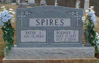 SPIRES, RODNEY - Gallia County, Ohio | RODNEY SPIRES - Ohio Gravestone Photos