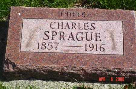 SPRAGUE, CHARLES - Gallia County, Ohio | CHARLES SPRAGUE - Ohio Gravestone Photos