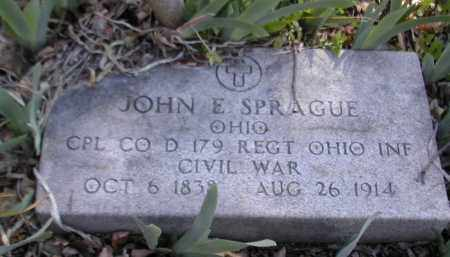 SPRAGUE, JOHN E. - Gallia County, Ohio | JOHN E. SPRAGUE - Ohio Gravestone Photos