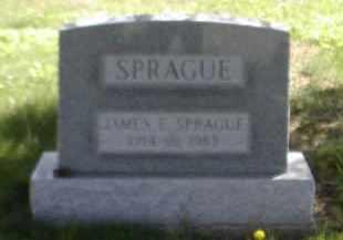 SPRAGUE, JAMES E. - Gallia County, Ohio | JAMES E. SPRAGUE - Ohio Gravestone Photos