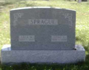 SPRAGUE, LELA - Gallia County, Ohio | LELA SPRAGUE - Ohio Gravestone Photos