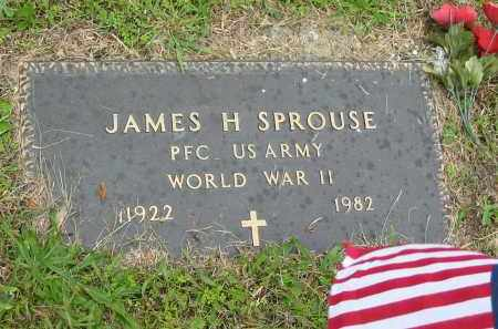 SPROUSE, JAMES H. - Gallia County, Ohio | JAMES H. SPROUSE - Ohio Gravestone Photos