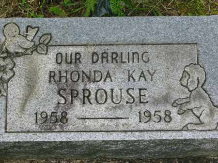 SPROUSE, RHONDA KAY - Gallia County, Ohio | RHONDA KAY SPROUSE - Ohio Gravestone Photos