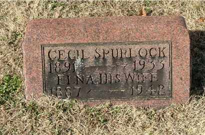 SPURLOCK, CECIL - Gallia County, Ohio | CECIL SPURLOCK - Ohio Gravestone Photos