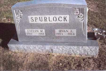 SPURLOCK, IRVAN A. - Gallia County, Ohio | IRVAN A. SPURLOCK - Ohio Gravestone Photos