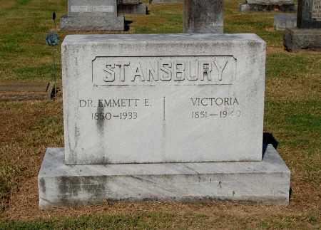 STANSBURY, EMMETT E., DR. - Gallia County, Ohio | EMMETT E., DR. STANSBURY - Ohio Gravestone Photos