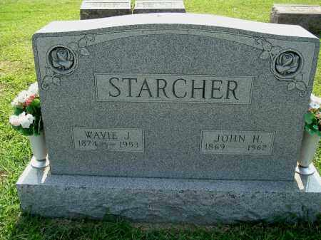 STARCHER, JOHN H - Gallia County, Ohio | JOHN H STARCHER - Ohio Gravestone Photos
